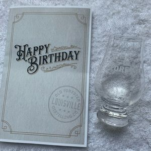 Old Forester Bourbon Tasting Glass